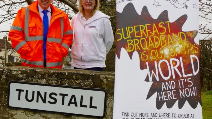 Tunstall Gets Superfast Broadband Thanks To Council Scheme