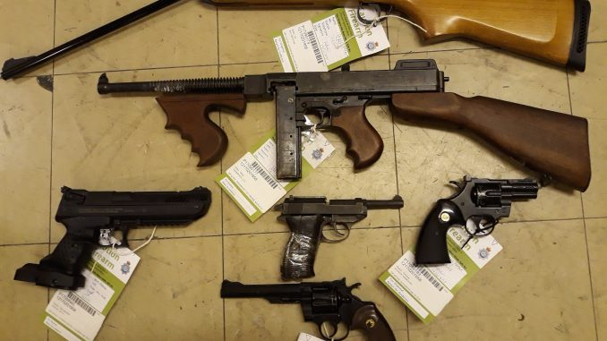 More than 100 firearms surrendered to Dorset Police