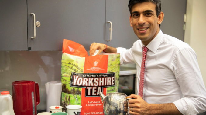 Storm in a teacup after Richmond MP tweets refreshment break photo
