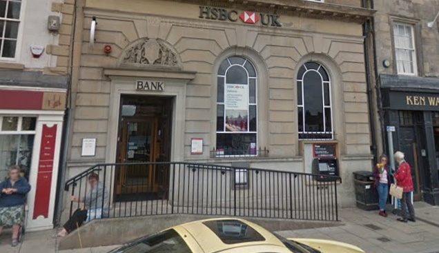 HSBC closes last operating branch in Edinburgh